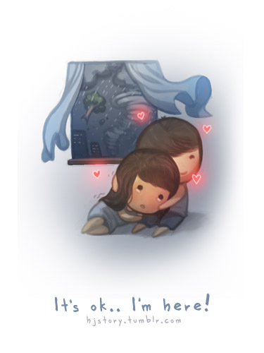It's ok... I'm here. by ~hjstory