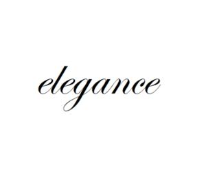 elegance