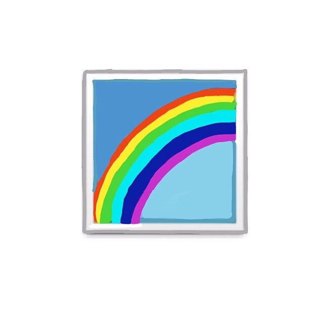Rainbow Emoji We Heart It Overlay Rainbow And