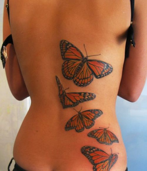 Women Butterfly Tattoos Designs | Fashion For Styles