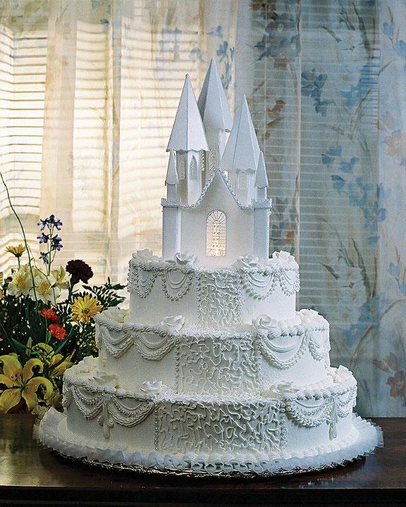 Торти замки фото