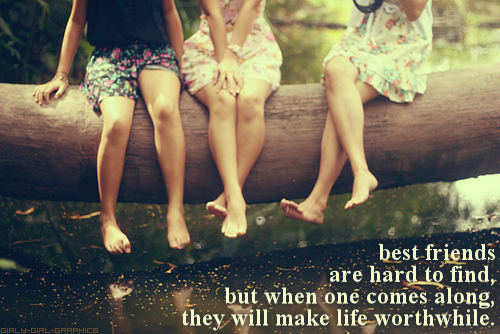 Group Girls Friends Group of Best Friend Quote