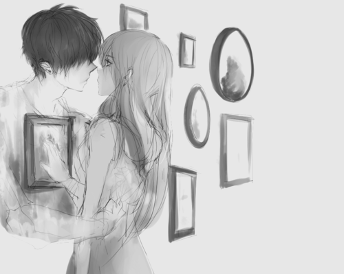Anime Couples Breaking Up Tumblr Group of Es muy feo