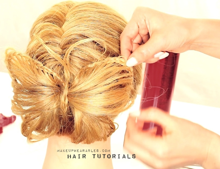Hair Bow Styles: Unqiue Hair Bow Hairstyle