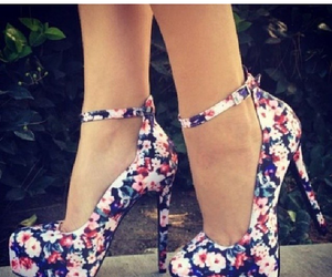 love shoes flowers summer