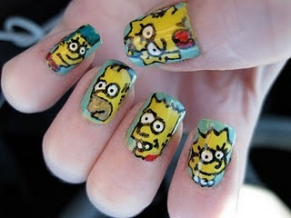 The-simpsons-nail-design_large