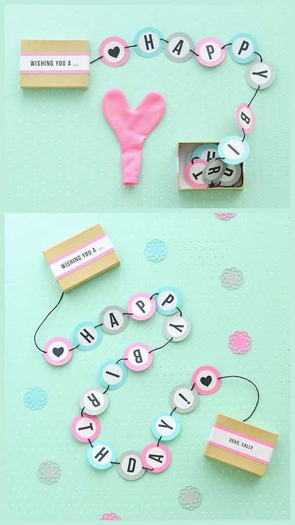 Diy para un regalo de cumplea os we heart it gift diy for Easy diy birthday gifts