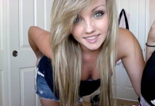 Hot Blonde Teen Can 47