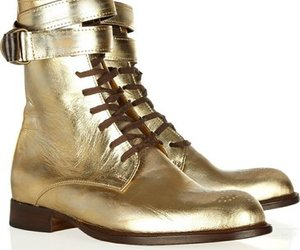 golden boots oxford style