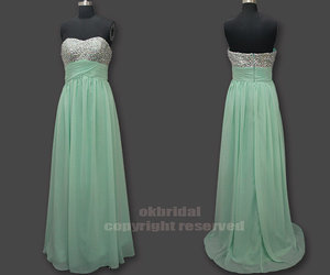mint bridesmaid dress
