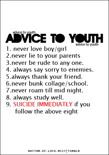 advice to youth