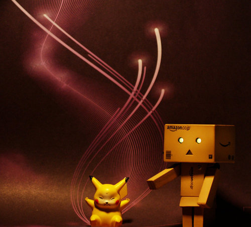 Danbo__pikachu_light_attack_by_noukiej-d3c5l4f_large