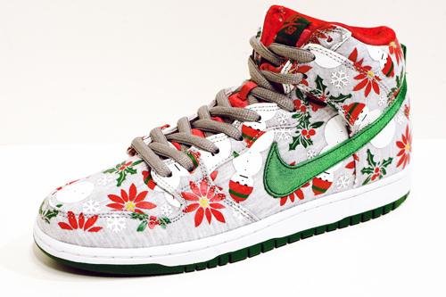 "CNCPTS x Nike SB Dunk High ""Ugly Christmas Sweater"""