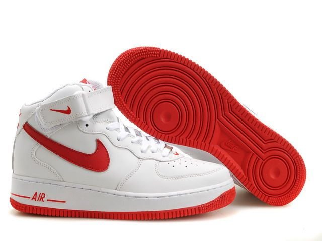 nike air force one red