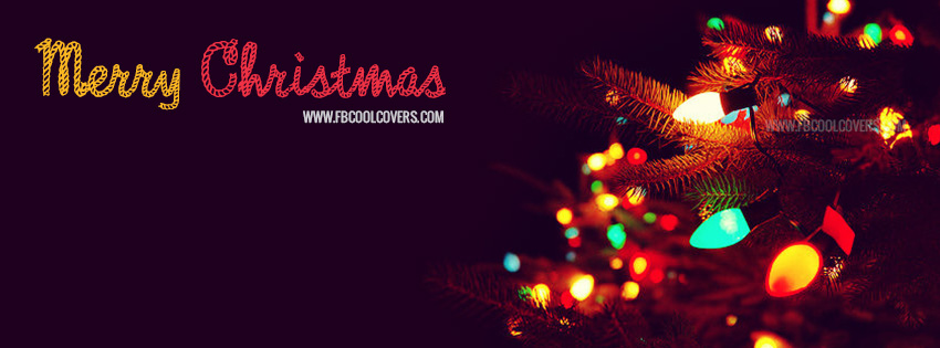 Merry Christmas Facebook Covers for the timeline profile.