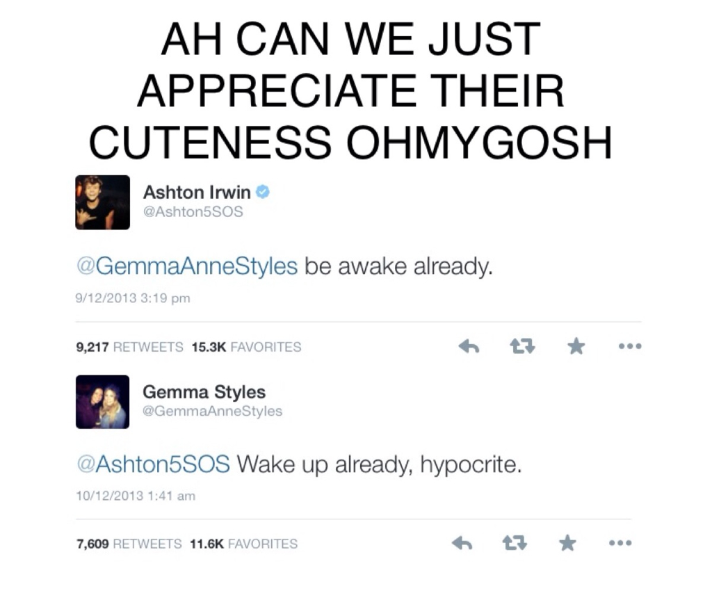 gashton we heart it twitter gemma styles and harry