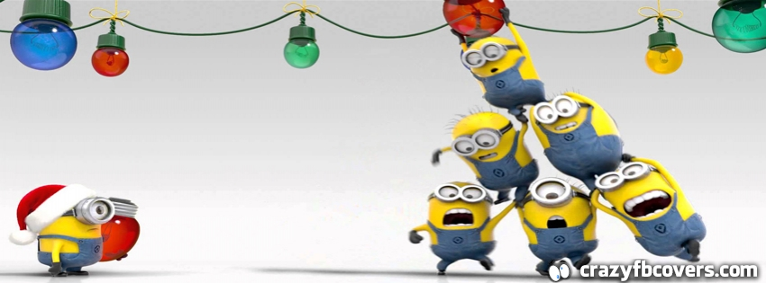 Minions Christmas Facebook Cover - CrazyFbCovers.com ...