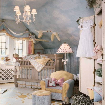 Baby Nursery  Ideas on Baby Girl Nursery Decor Ideas On We Heart It   Visual Bookmark