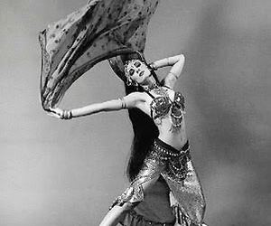 ansuya belly dance exotic