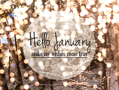 Hello january welcome Make my wishes come true | We Heart ...Hello December Make My Wishes Come True