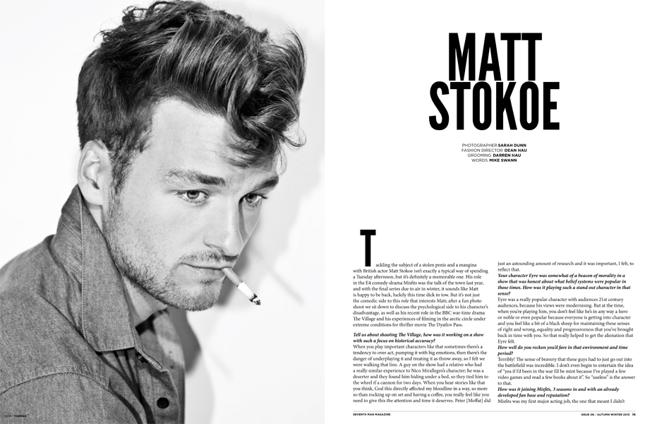matt stokoe actor
