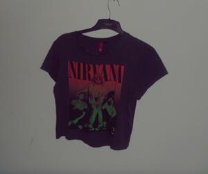 nirvana tshirt