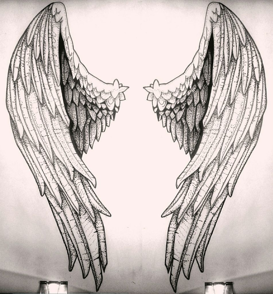 Sketch Tattoo Vsevolodb ... Angel
