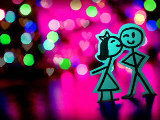 Download cute Love wallpapers to your cell phone - cute kiss love - 17389609 Zedge We Heart It
