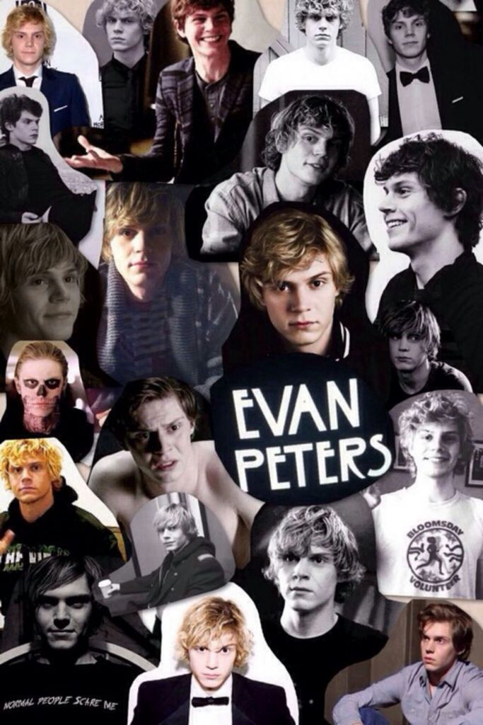 evan peters collage | Tumblr