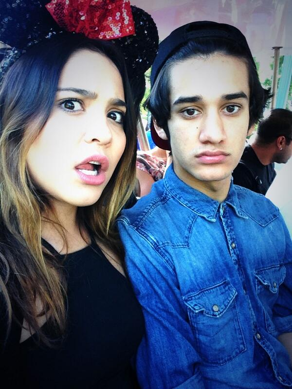 Stella Hudgens and Alec Holden