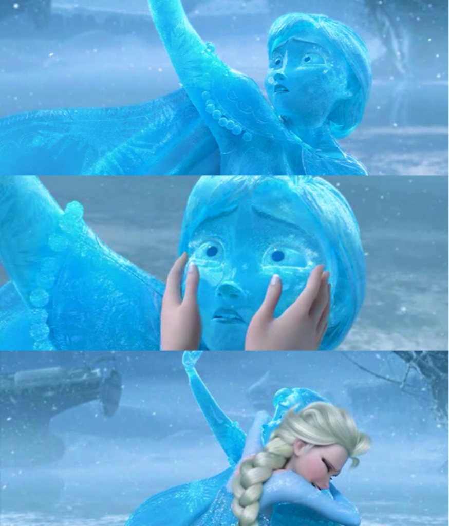 Anna Frozen Heart Disney