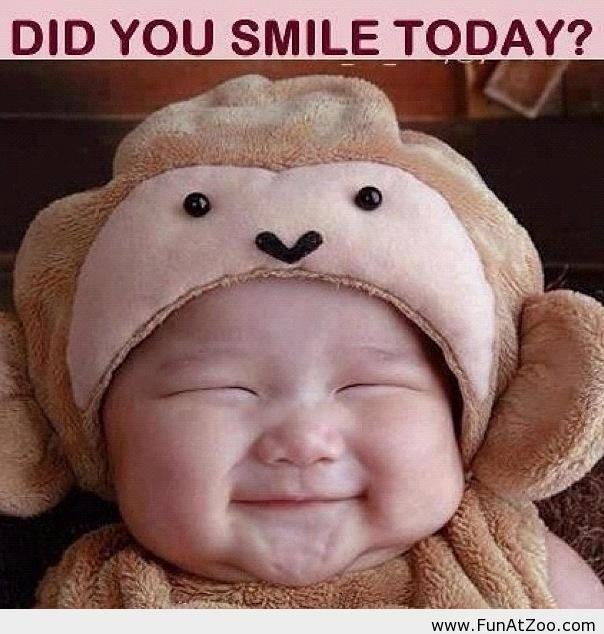 Did you smile today? - Funny Picture on We Heart It