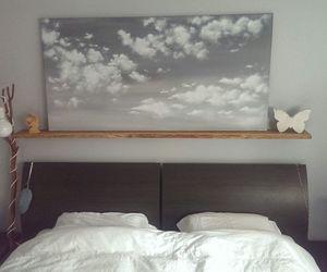bedroom*bed*clouds*sky