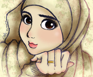 Drawings Hijab Tumblr 75 Images Heart About It Manga On We Anime Cartoons