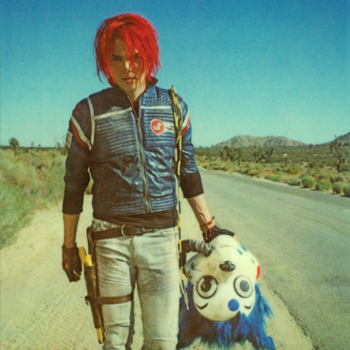Neil Krug | Gerard Way during the Danger Days photo shoot.   ...