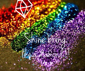 shine bring like diamond