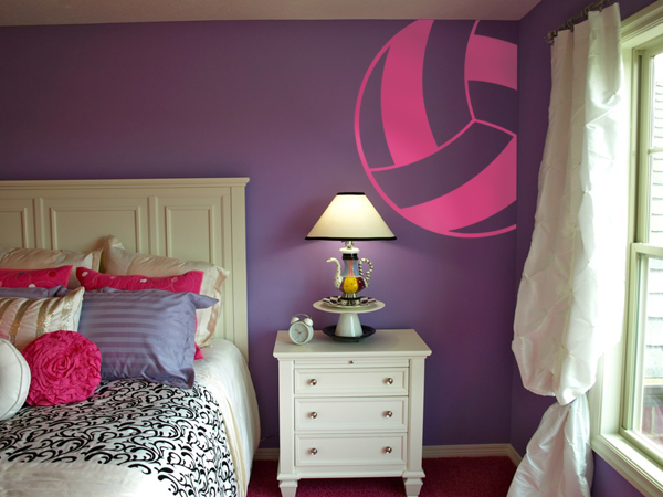 Dream Home, Volleyball And Wall Decals Image On We Heart It