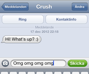 text crush omg