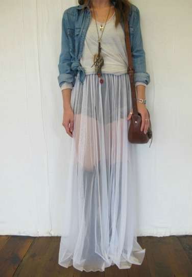 Maxi dress in winter tumblr pictures