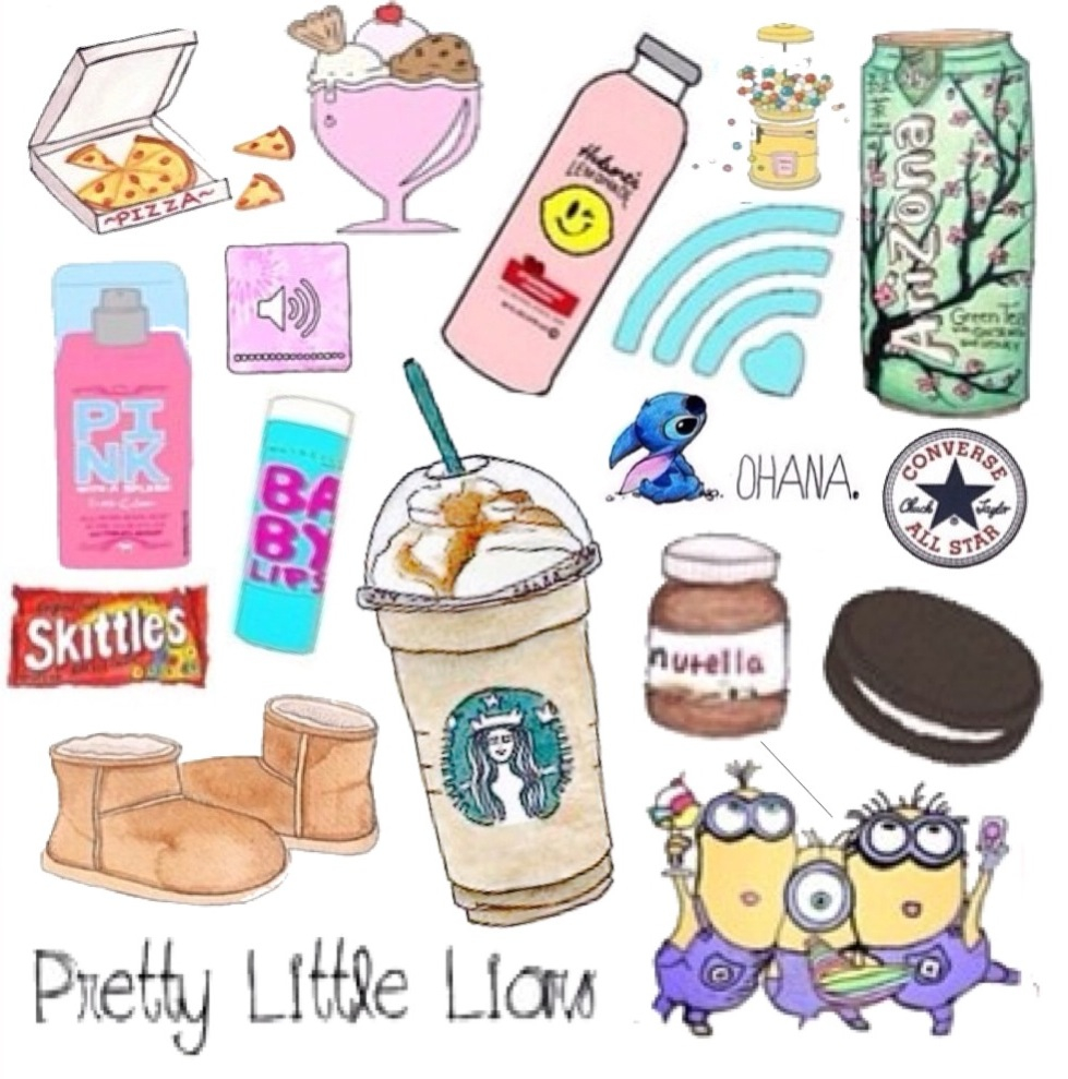 background starbucks skittles minion oreo nutella