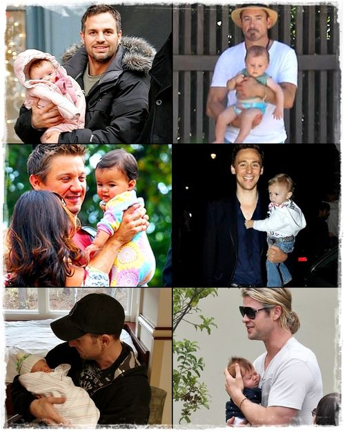 Avengers & Loki with kids | cute, baby and kids