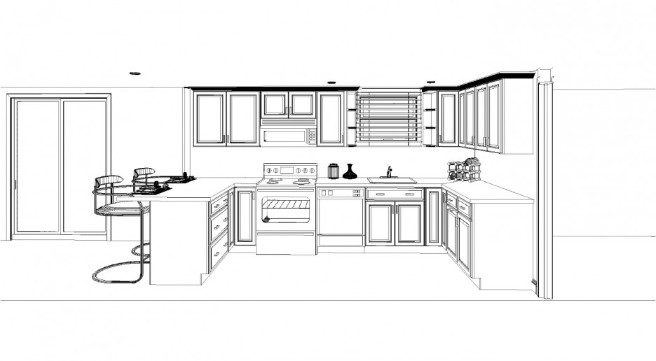 Modern Kitchen Layout Plan contemporary kitchen best modern farmhouse kitchen decor kitchen