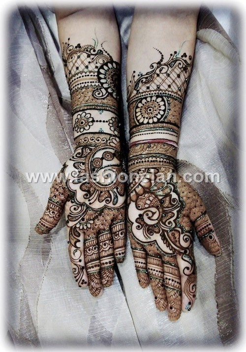 Mehndi Patterns We Heart It : Beautiful bridal mehndi designs for hands fashion elan