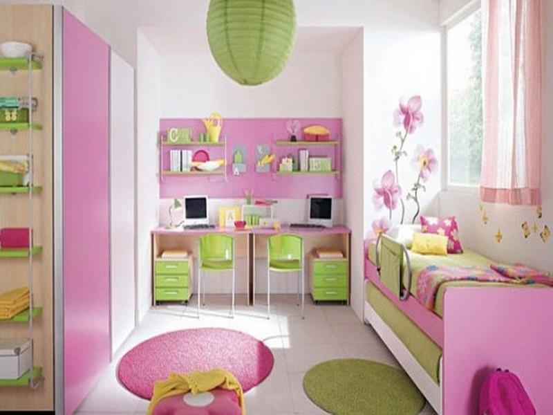 Beautiful Pink Bedroom Of House Beautiful Paint Colors Combined With Green  And White Accents In Minimalist. Beautiful House Bedrooms
