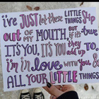 You & I and other Little Things