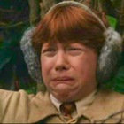 Ron's face