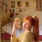 freckled ginger 🤍