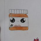 Kleine nutella-suchti