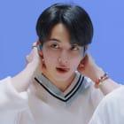 jeonghan's strawberry milk