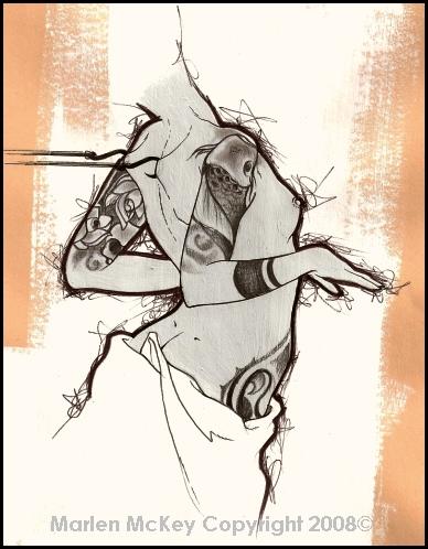 artwork, draw, and marlen mckey image